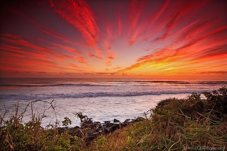 Burleigh sunrise taken by our friends at Liquid Boulevard
