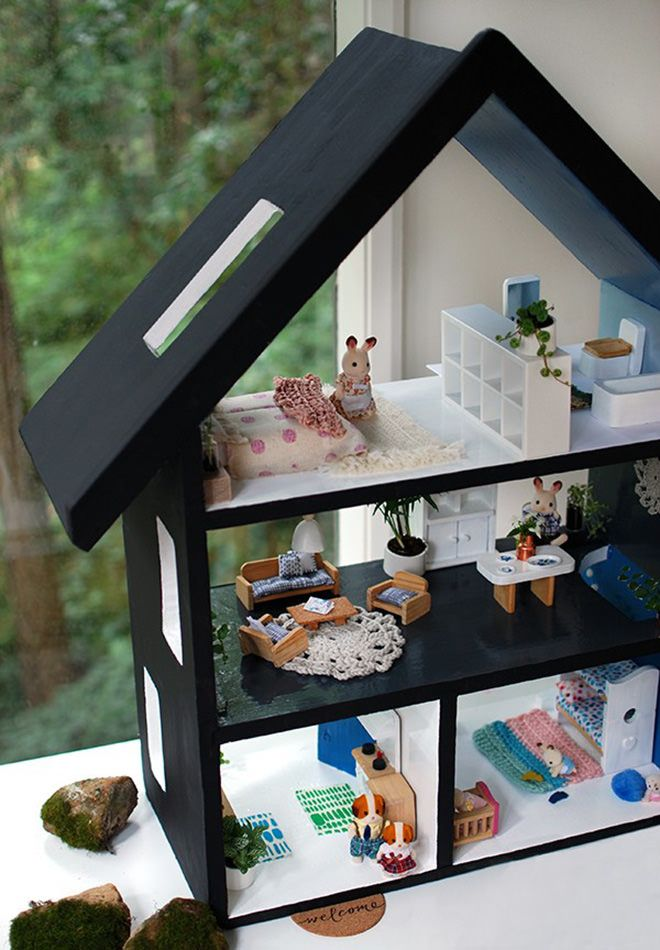 We Are Scout - How to DIY an old Dolls House