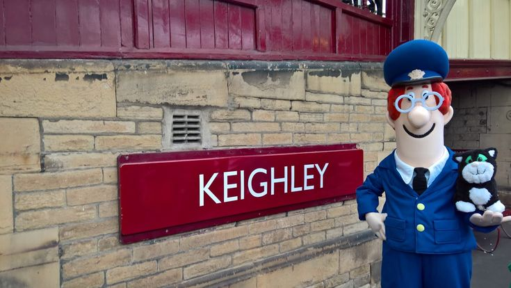 Postman Pat at Keighley on the Keighley and Worth Valley Railway