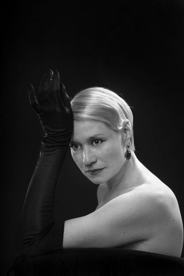 Trine Dyrholm (1972)- Danish actress, singer and songwriter. Photo © Soren Bidstrup