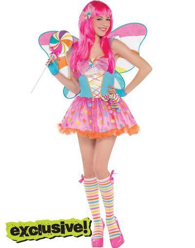 Teen Girls Lollipop Fairy Costume - Party City