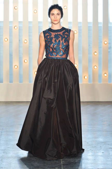 The most outrageously gorgeous gowns from NYFW 2014: Jenny Packham