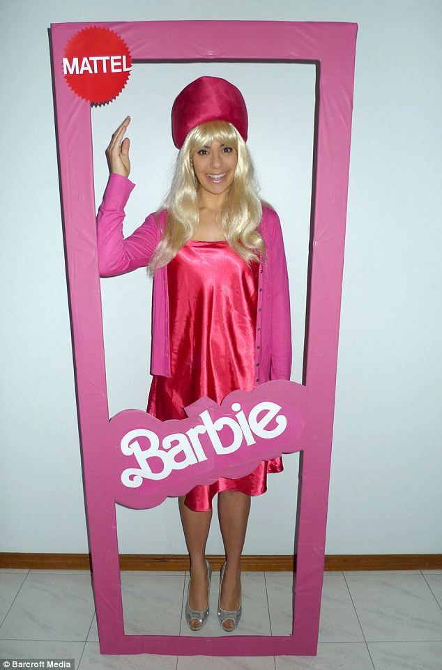 Barbie: Fancy Dress addict Mary Saba decided to wear a different fancy dress outfit every day for a whole year as part of her 26th birthday ...