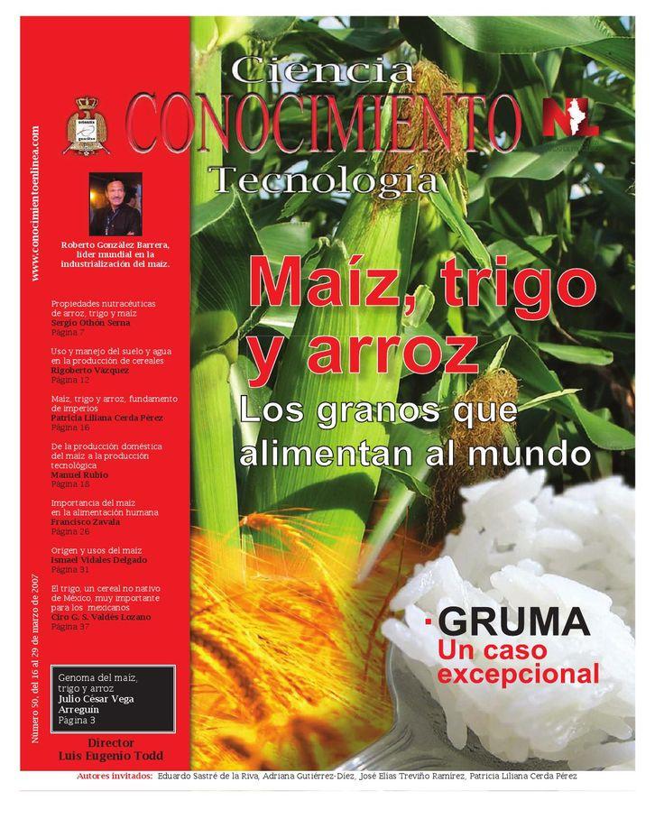 Revista Conocimiento 50  Revista Ciencia CONOCIMIENTO Tecnología número 50