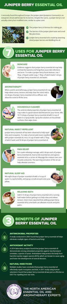 Juniper Berry Essential Oil Uses & Benefits