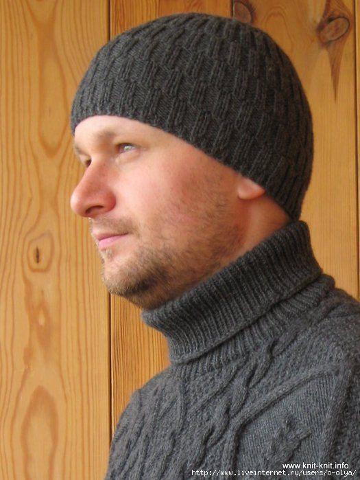 фото шапка мужская