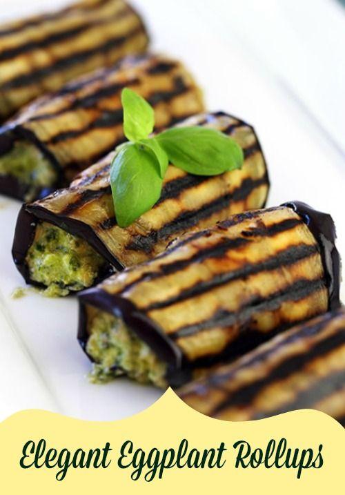 Elegant Eggplant Rollups Recipe