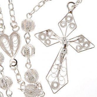 Rosario filigrana Collana rosario | vendita online su HOLYART