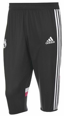 ADIDAS REAL MADRID 3/4 TRAINING PANTS 2014/15 LA LIGA SPAIN.