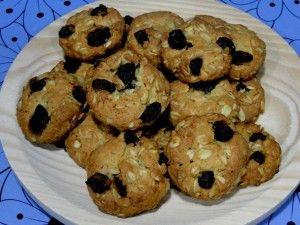 Galletas de avena y pasas sin azúcar | Dulces diabéticos