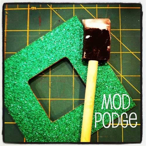 Crafts With Mod Podge And Glitter