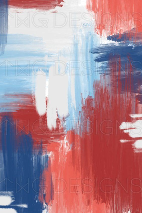 red white blue abstract painterly print digital scrapbook paper watercolor 4th of july floral hand drawn brush stroke art paint background blue abstract art paint background blue abstract digital scrapbook paper watercolor 4th