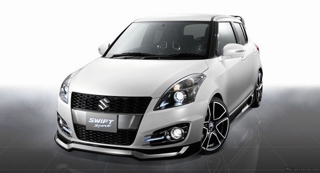 The new Suzuki swift sport with technical specifications
