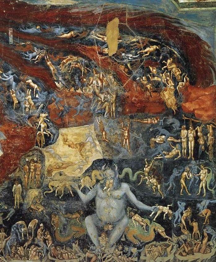 Αποτέλεσμα εικόνας για Giotto Cappella Scrovegni Il Giudizio Universale