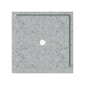 Transolid�Matrix Dusk/Stone Fiberglass/Plastic Composite Shower Base (Common: 36-in x 36-in; Actual: 36-in x 36-in)