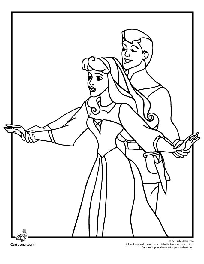 Sleeping Beauty And Cinderella Coloring Pages Who Is One Of My Favorite Disney Princesses