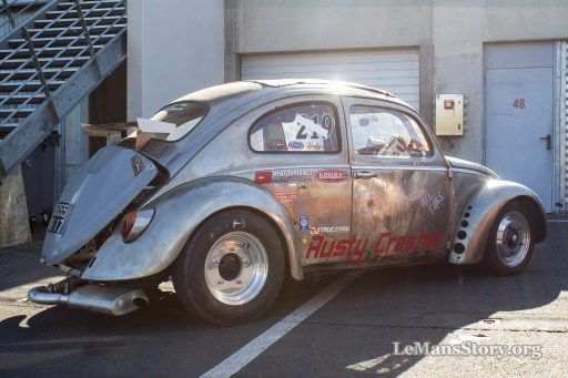 Rusty Crasher VW custom vw beetle pictures super vw festival le mans france 2015