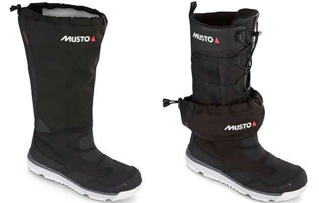 Musto's advanced sailing boots