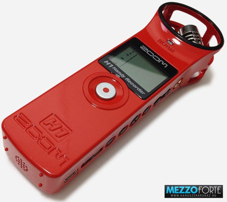 Zoom H1 Red 2.0 diktafon/hangrögzítő
