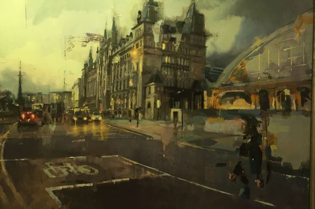 Artist sells unique Liverpool painting to raise money for Hillsborough families - Liverpool Echo