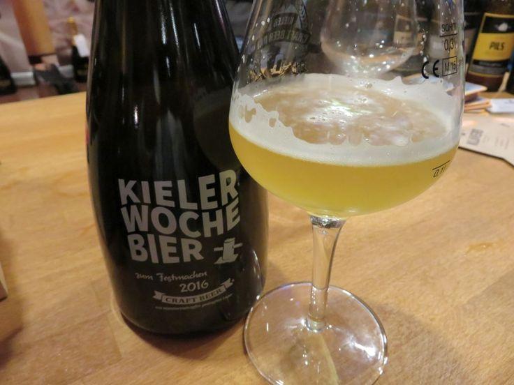 Klvers Kieler Woche Bier 2016