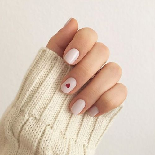 Best Valentine's Day Nails – 55 Vday Heart Melting Nails