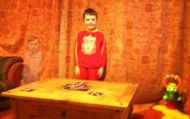 Top Freaky Pics That You've Ever Seen – Part II | A youngster's ghostly playmate has been caught on camera in a photograph taken on a mobile phone, a family claims.Paranormal
