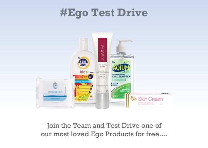 I just signed up to become an @Egotestdriver. Hoping to try out for an array of skin conditions in my family