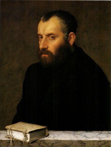 A Scholar, ca. 1560 (Giovanni Battista Moroni) (1522-1579) Galleria degli…