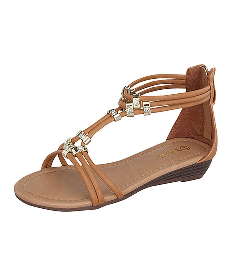 Look at this Link Tan Filosia Sandal on #zulily today!