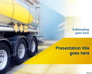 Free Truck Transport PowerPoint Template | Free Powerpoint Templates