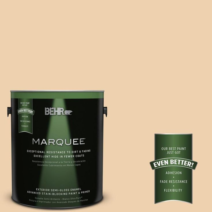 BEHR MARQUEE 1-gal. #300E-2 Calm Air Semi-Gloss Enamel Exterior Paint