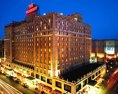 Peabody Hotel - Memphis - lovely - 2009 and 2010