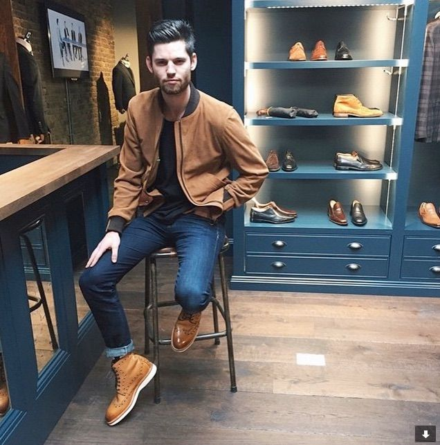 Are you ready for spring? Oliver Sweeney. The creator of Billiam Jeans