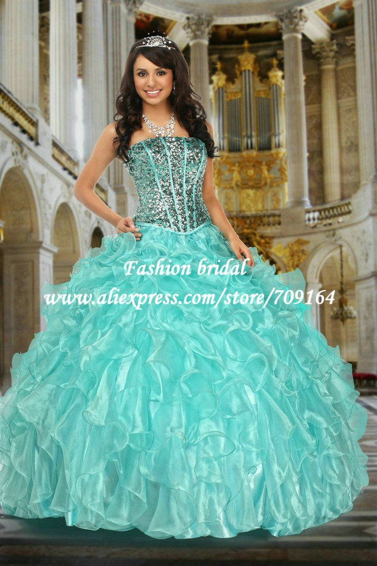 25 best vestidos de quince images on Pinterest | Formal prom dresses ...