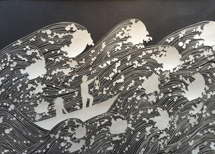 Best Paper Art Images On Pinterest Cut Paper Art Paper Art - Incredible intricately cut paper designs bovey lee