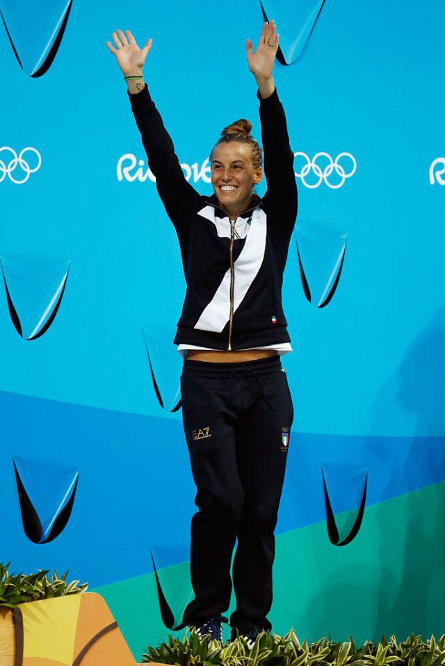 Tania Cagnotto  - Impresa per la tuffatrice italiana più forte di tutti i tempi, Tania Cagnotto conquista il bronzo nell'individuale dietro solo ai colossi delle cines