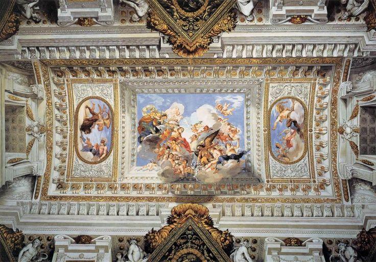 Giovanni Da San Giovanni - Allegory of the Marriage of Vittoria della Rovere with Ferdinando II de' Medici