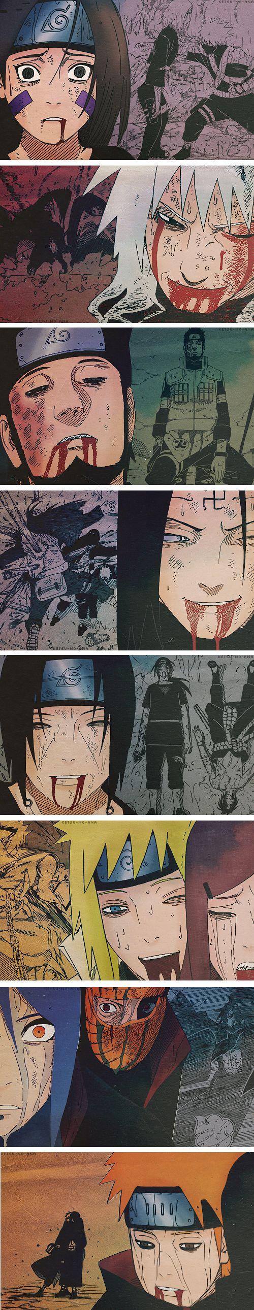 Deaths in Naruto. So, sad.   :'(