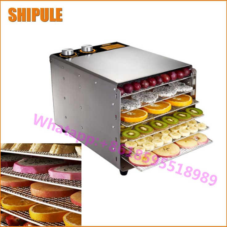 SHIPULE large capacity 6 layer fruit dry machine vegetable dehydration machine electric food drying machine #Affiliate