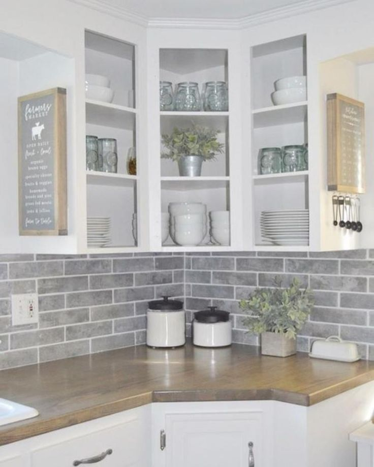 40 beautiful modern farmhouse kitchen backsplash farmhouse kitchen decor farmhouse style on farmhouse kitchen backsplash id=19953