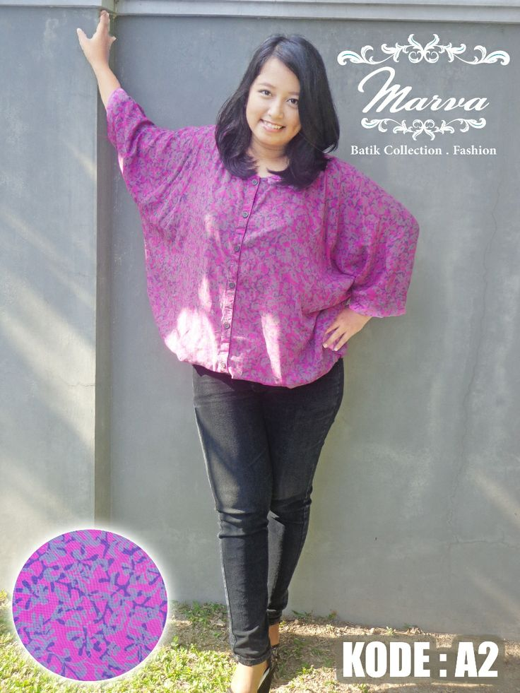 blouse batwing big size price 125.000 CP BB: 23B80682 |WA/SMS 089617303533 |LINE: marvastore