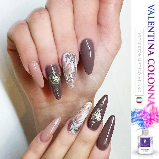 brown nails! LoVki :)
