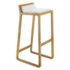 JOE Oak bar stool at habitat - Inspiration for Restaurant in Middle East by SI Architects