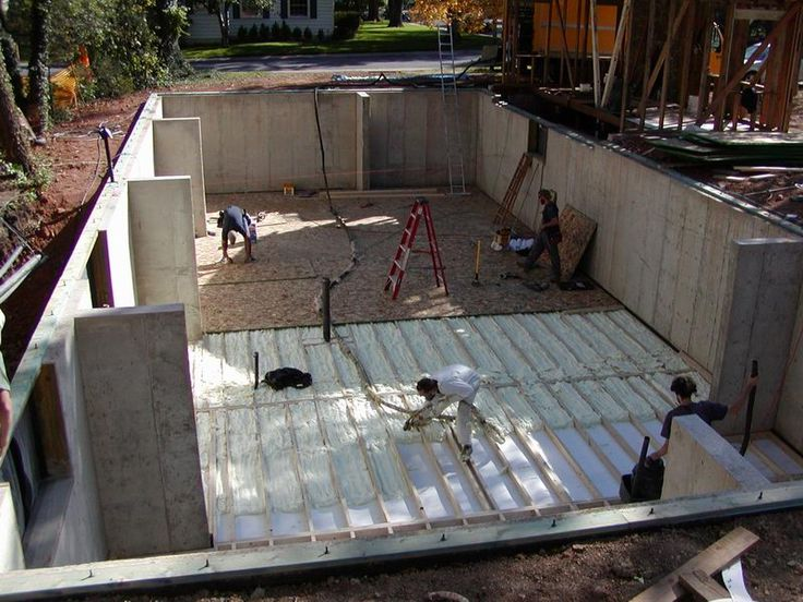 25 best ideas about floor insulation on pinterest tiny for Insulation options for new homes