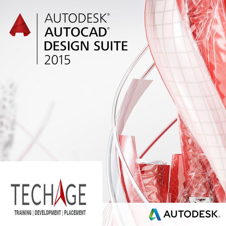 Autodesk,AutoCAD Design Suite Training 2015 in Noida,Delhi/NCR.Call for more details: +91-9212063532, +91-9212043532 OR visit: http://www.techageacademy.com/courses/autocad-training/