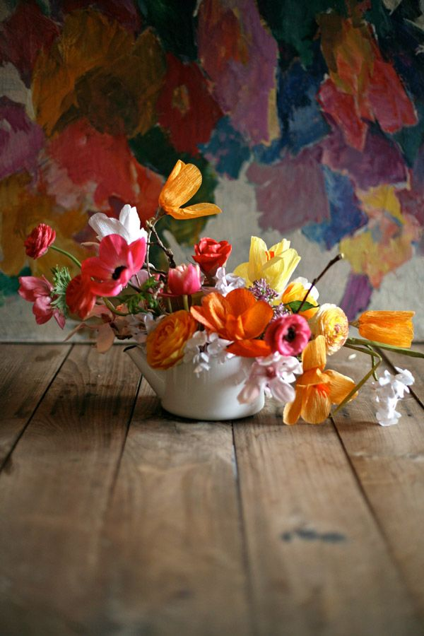 Colorful centerpiece / Amy Merrick