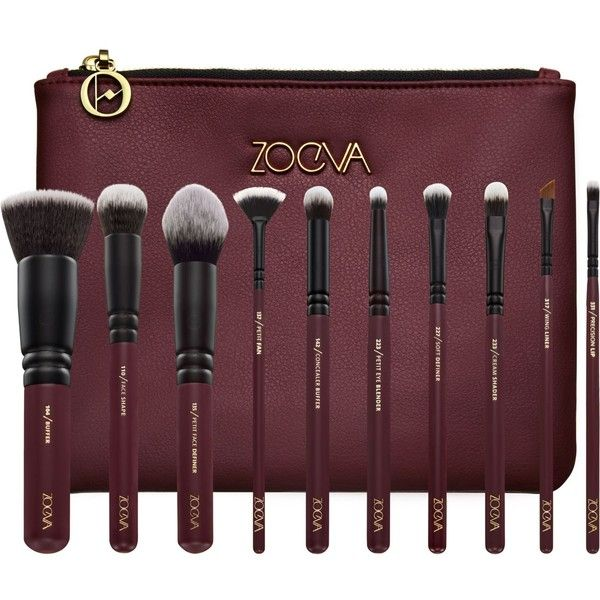 Zoeva Opulence Brush Set (€74) ❤ liked on Polyvore featuring beauty products, makeup, makeup tools, makeup brushes, set of makeup brushes, face brush, zoeva, set of brushes and zoeva makeup brushes