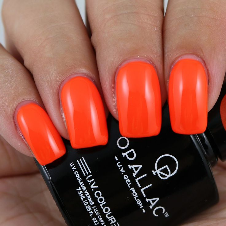 Opallac Gel Polish Fluro This swatched by Olivia Jade Nails