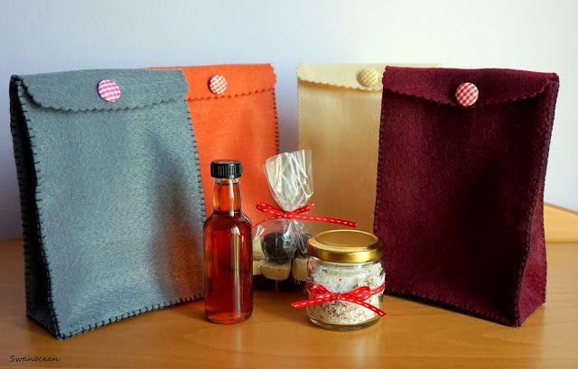 Swanocean: Christmas teacher gifts with homemade goodies-Χριστουγεννιάτικα δώρα για τις δασκάλες με σπιτικά καλούδια
